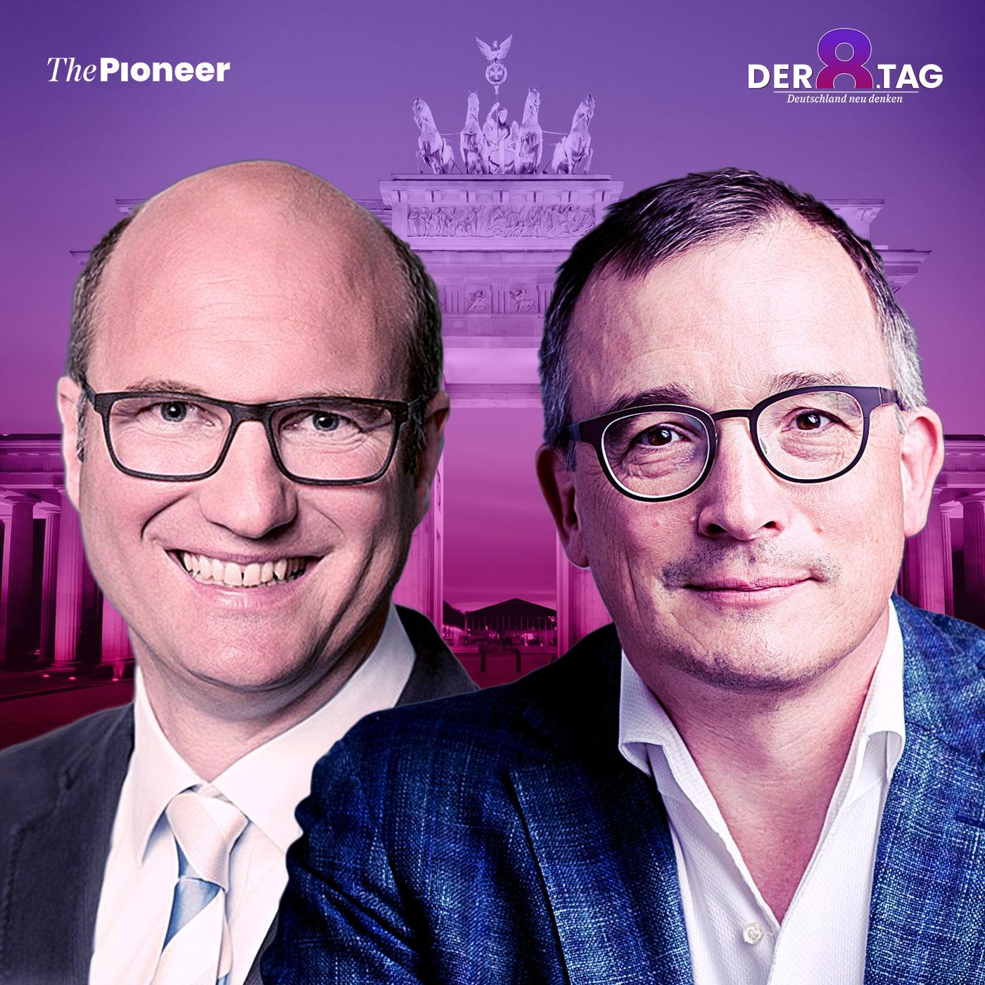 """Der achte Tag #51 - Andreas Rödder und Gregor Kirchhof: """"New Deal für Europa und den Euro"""""""