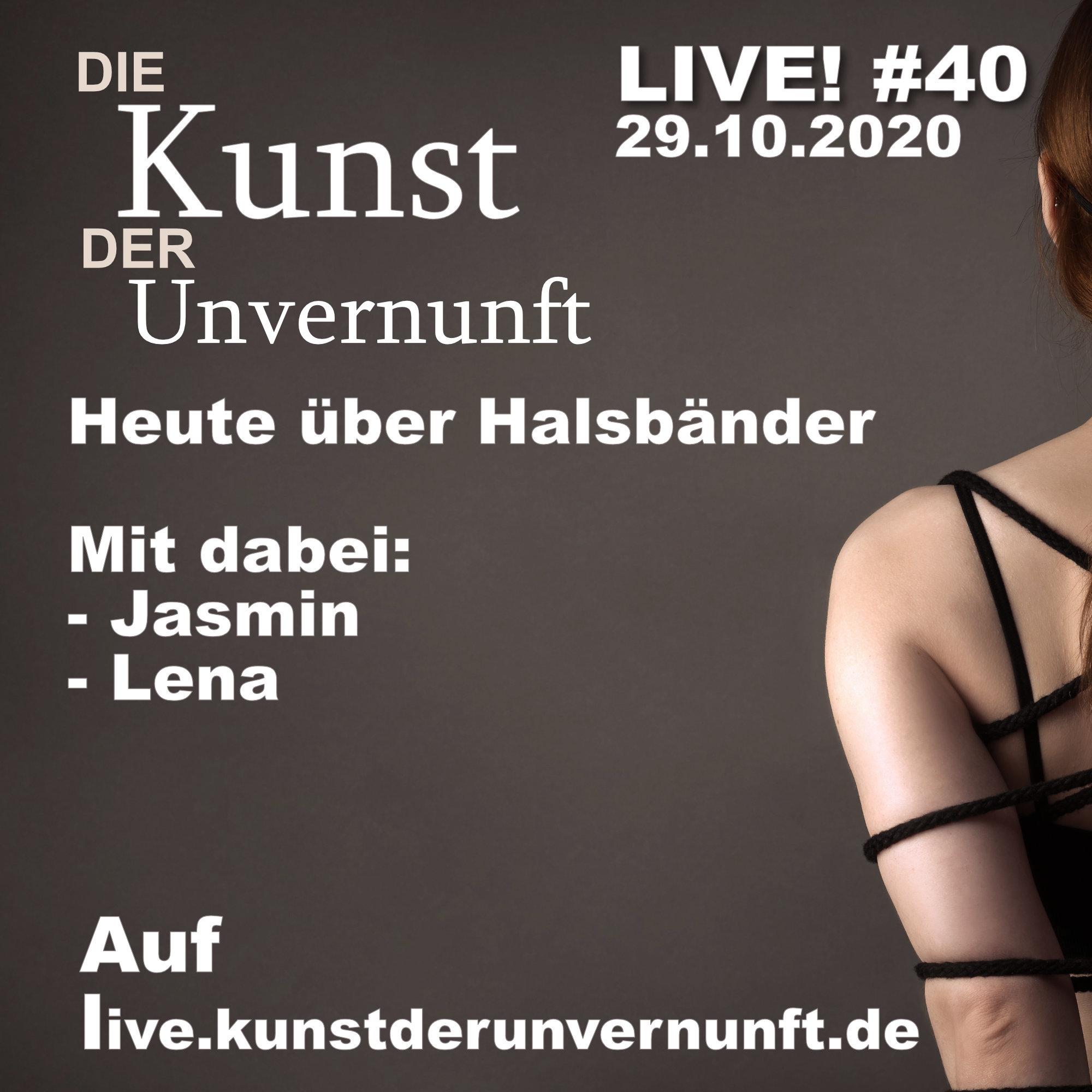 Unvernunft Live 29.10.20 - Halsbänder
