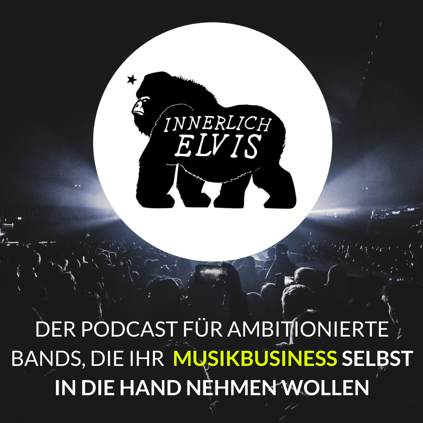 Innerlich Elvis - Der Podcast für Bands, die ihr Musikbusiness selbst in die Hand nehmen wollen