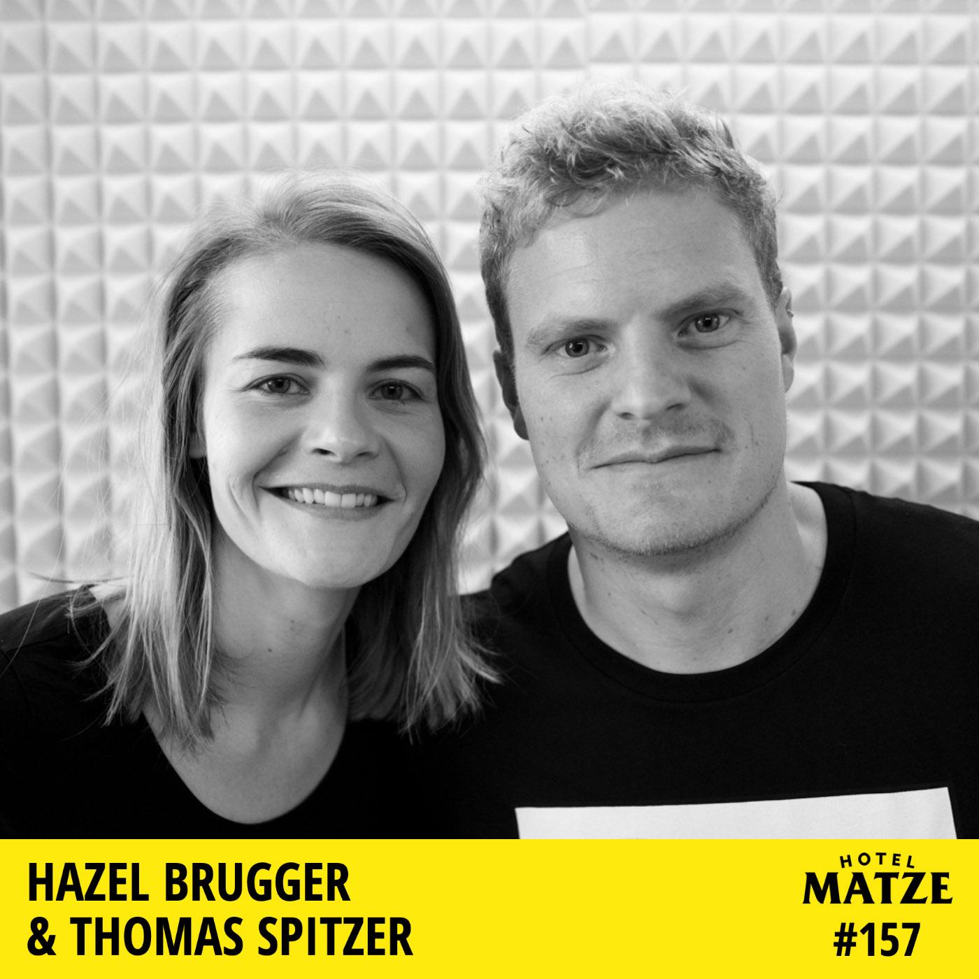 Hazel Brugger & Thomas Spitzer – Was hält euch zusammen?