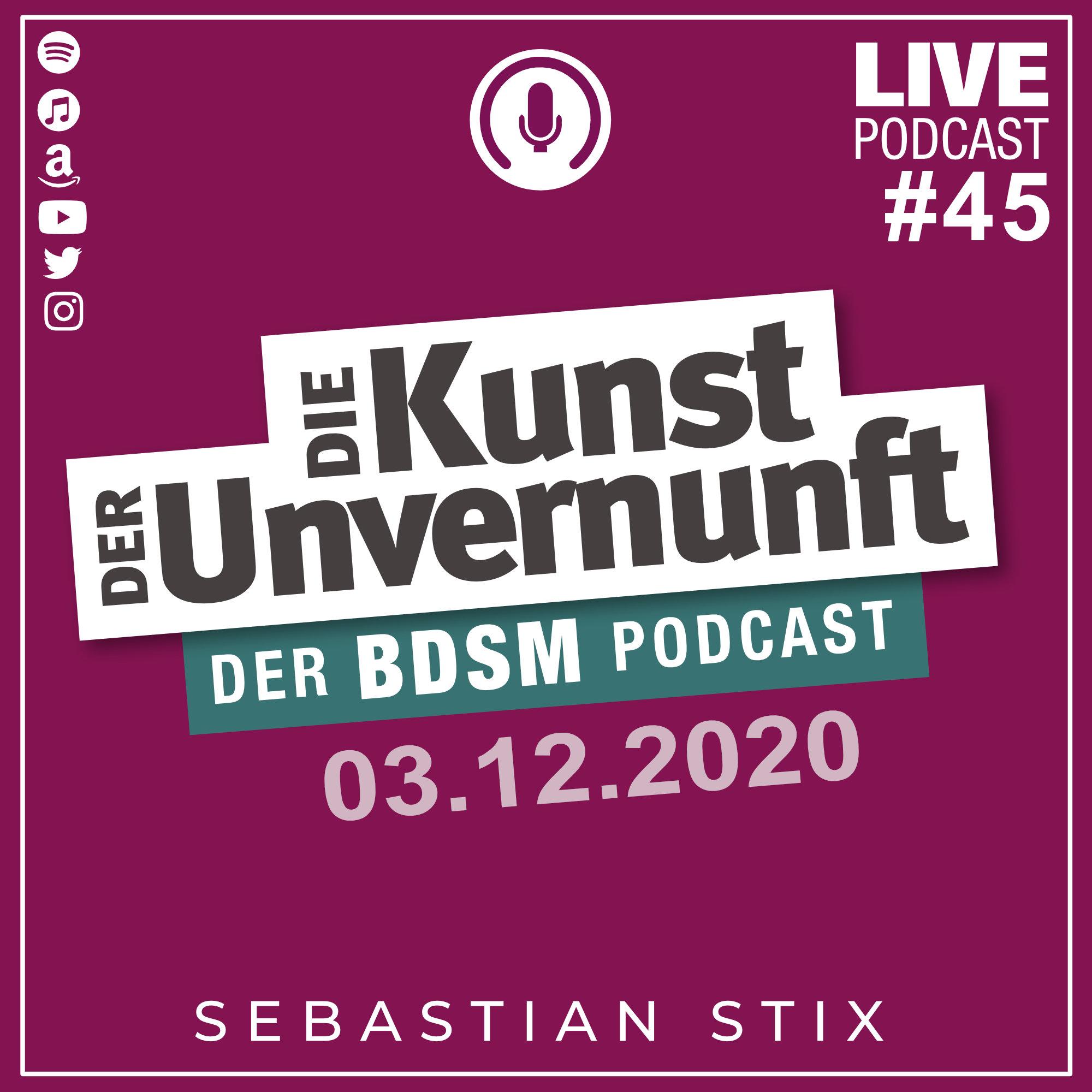 Unvernunft Live 03.12.2020 - FRAG DIE SMJG