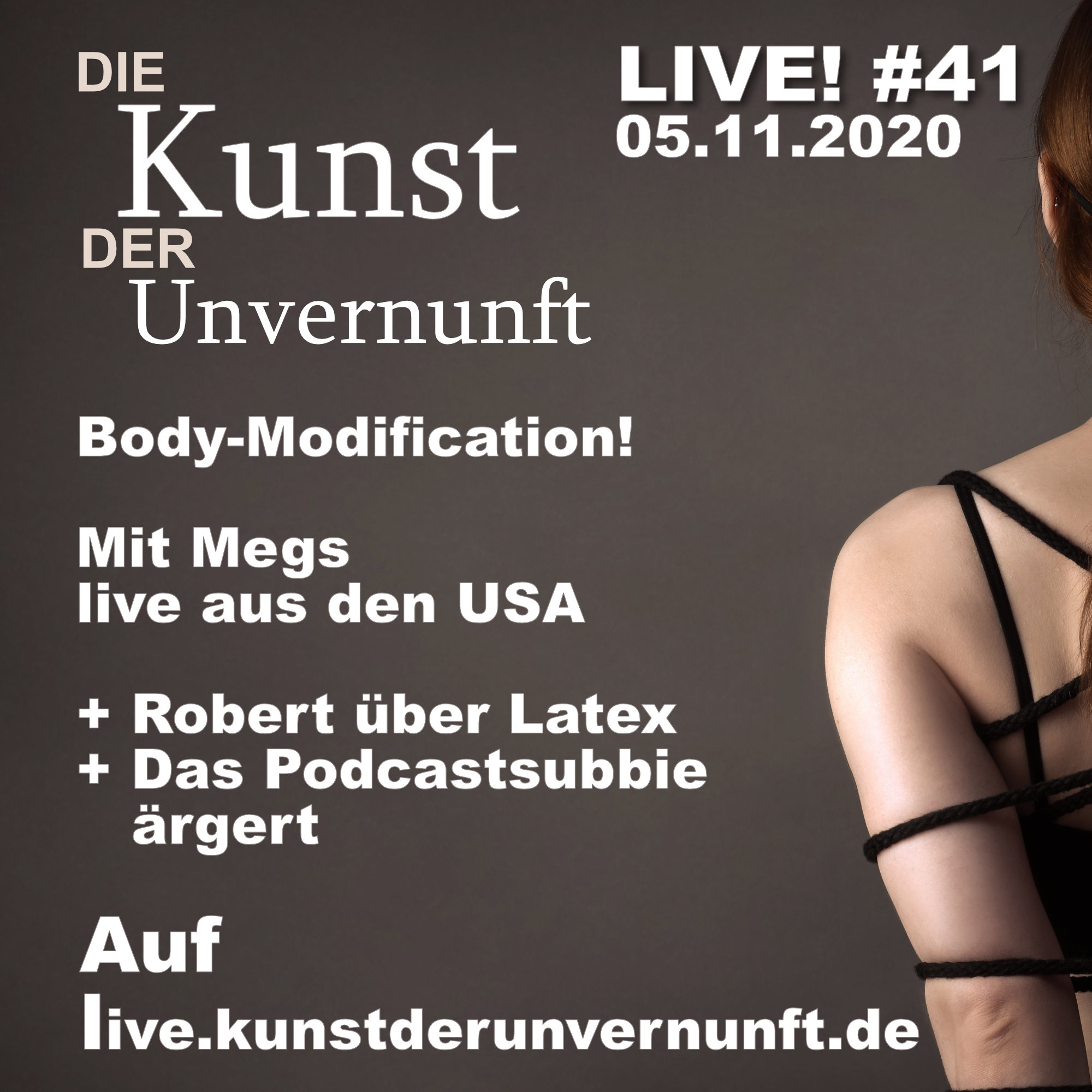 Unvernunft Live 05.11.20 - Body-Modification