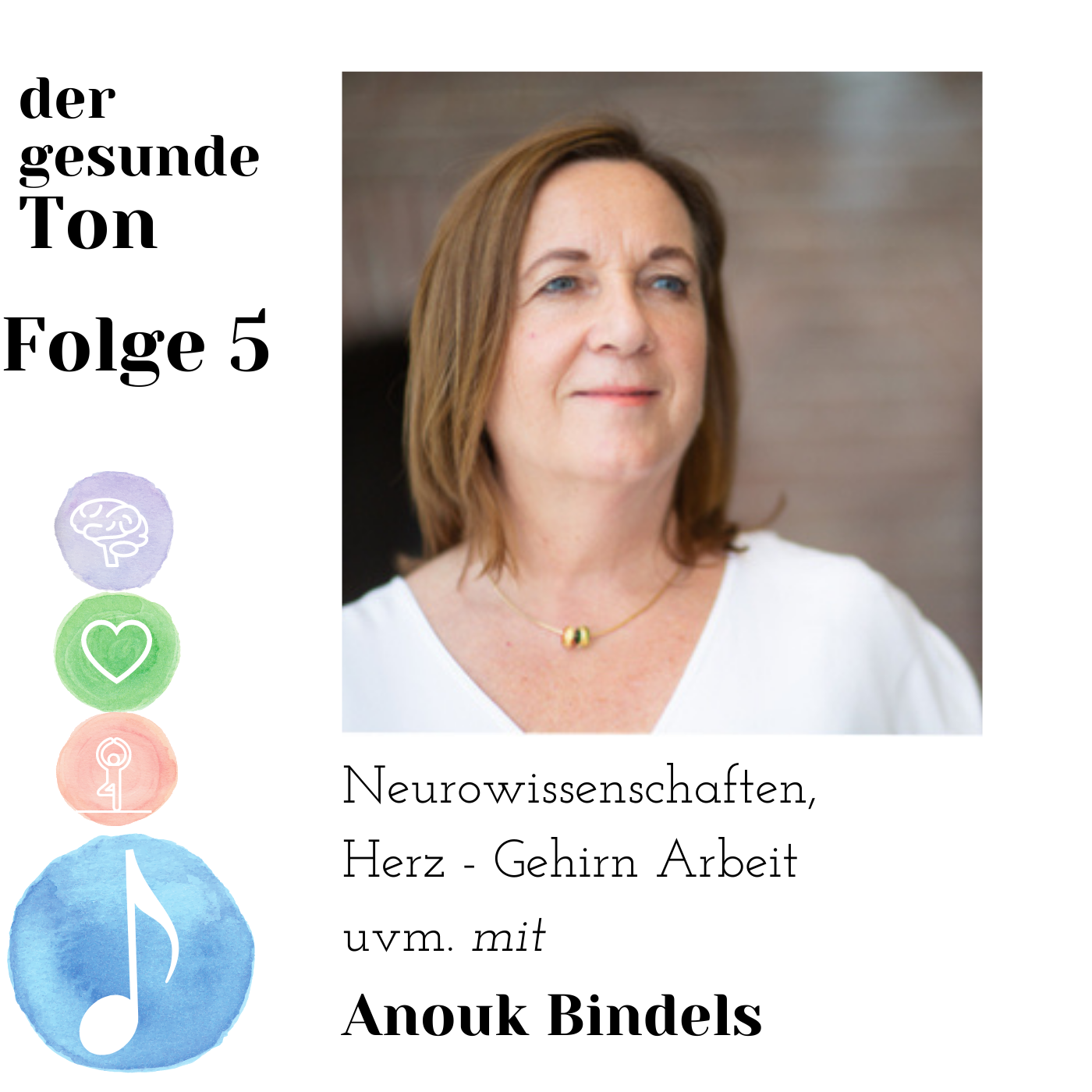 Neurowissenschaften, Herz-Gehirn Arbeit uvm. mit Anouk Bindels