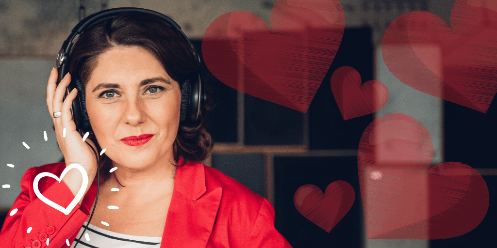 Online-dating-podcast über 50