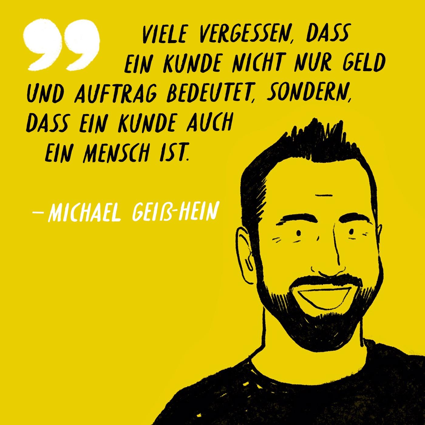 Bonus zu Folge 24: Mini-Interview mit Michael Geiß-Hein AKA Mister Maikel