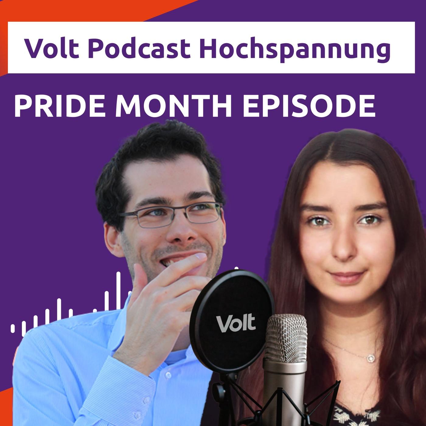 PRIDE MONTH SPECIAL - im Gespräch mit der LGBTIQ+ Community - Hochspannung Podcast