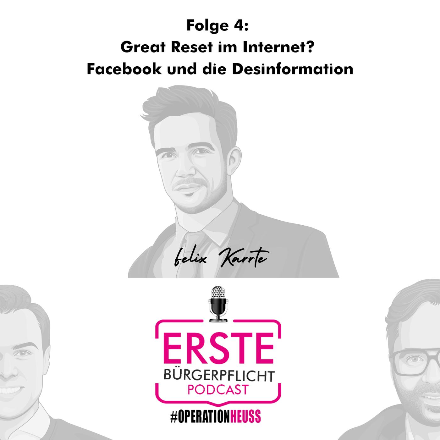 Great Reset im Internet? Facebook und die Desinformation