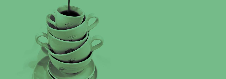 5 Tassen täglich