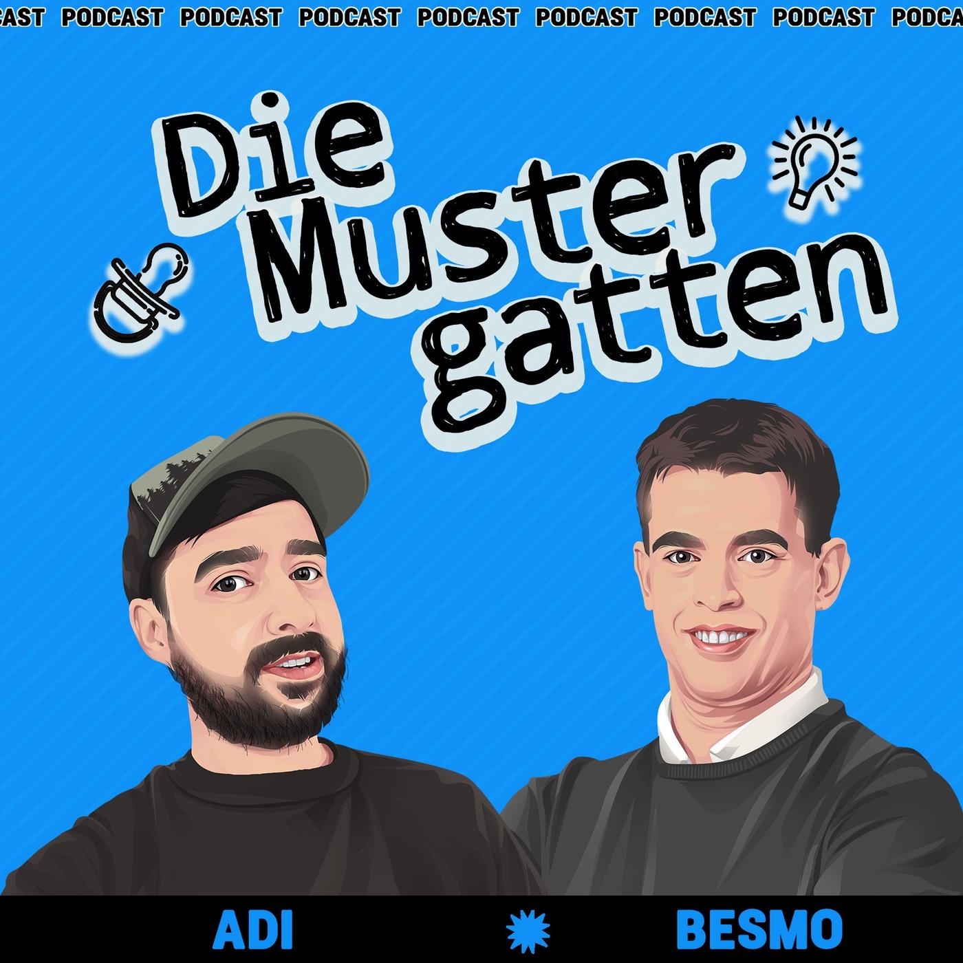 Eine Werbeikone zu Gast im Podcast