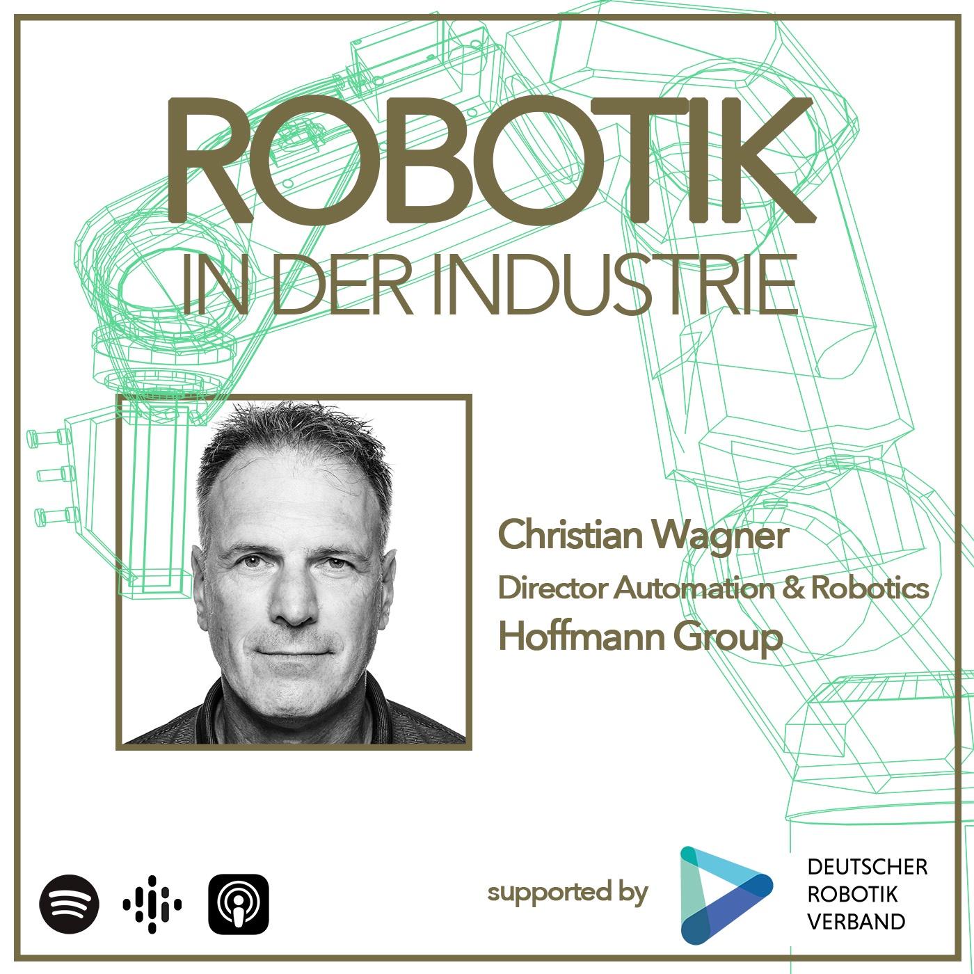 Der Hoffmann-Roboter an der Werkzeugmaschine
