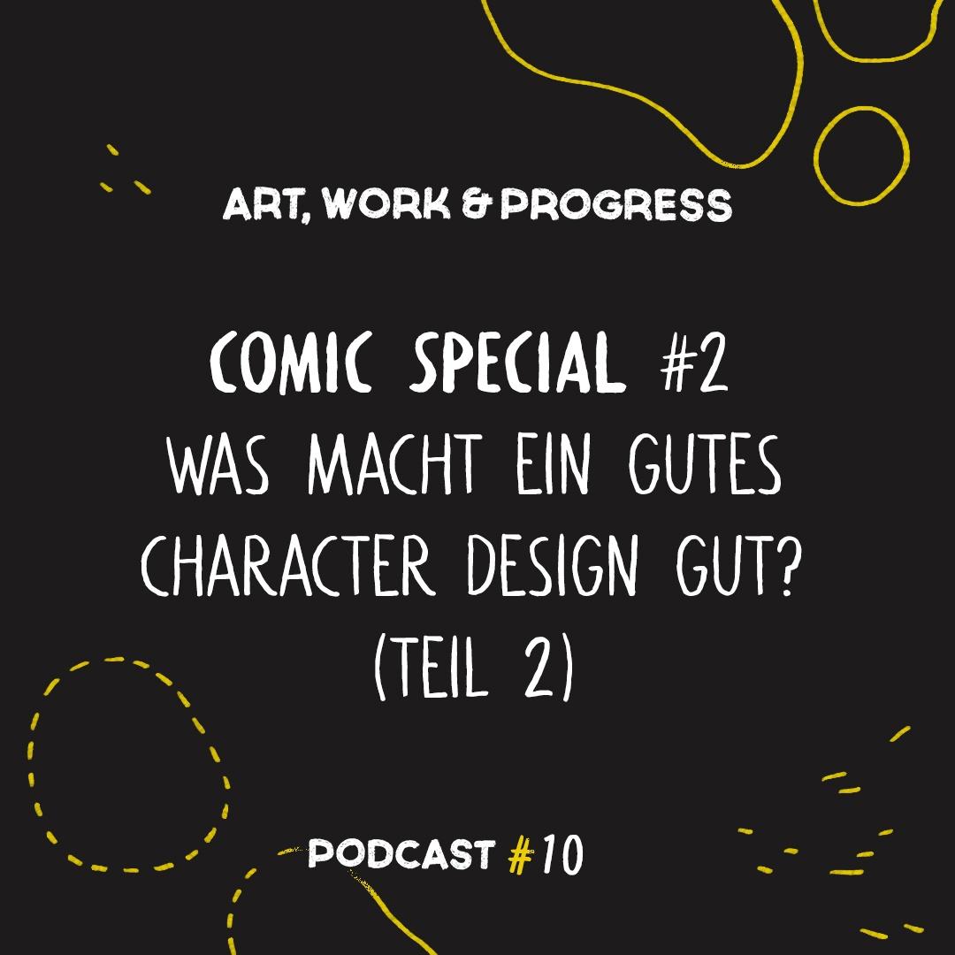 Comic Special #2: Was macht ein gutes Character Design gut? (Part 2)