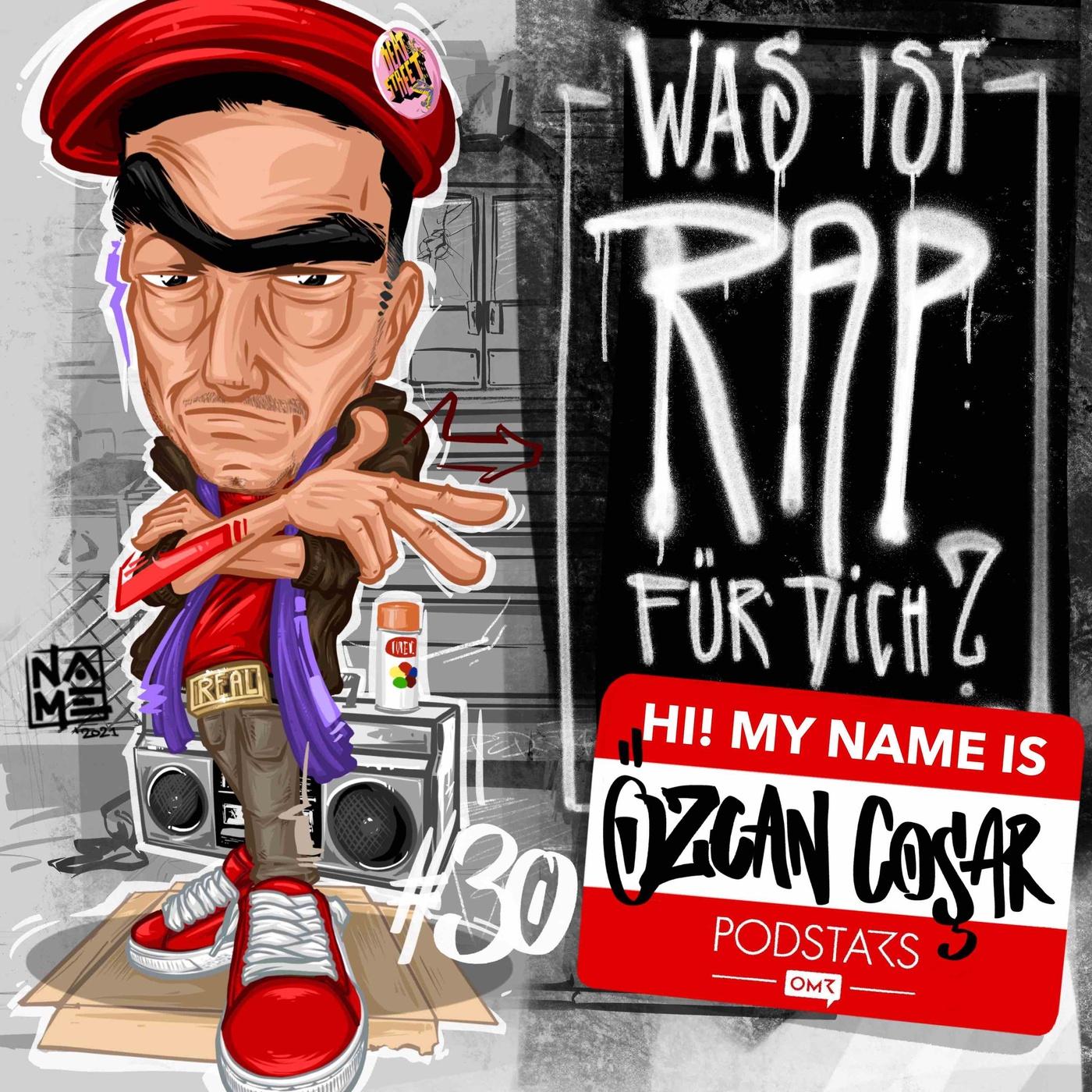 Özcan Coşar – Hip Hop kann man nicht ablegen, es ist in dir