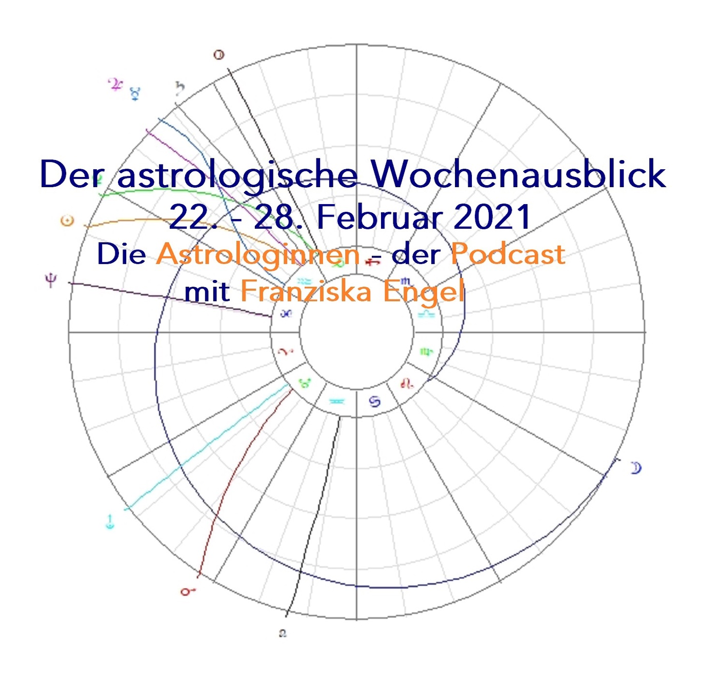 Astrologischer Wochenausblick 22. - 28. Februar 2021
