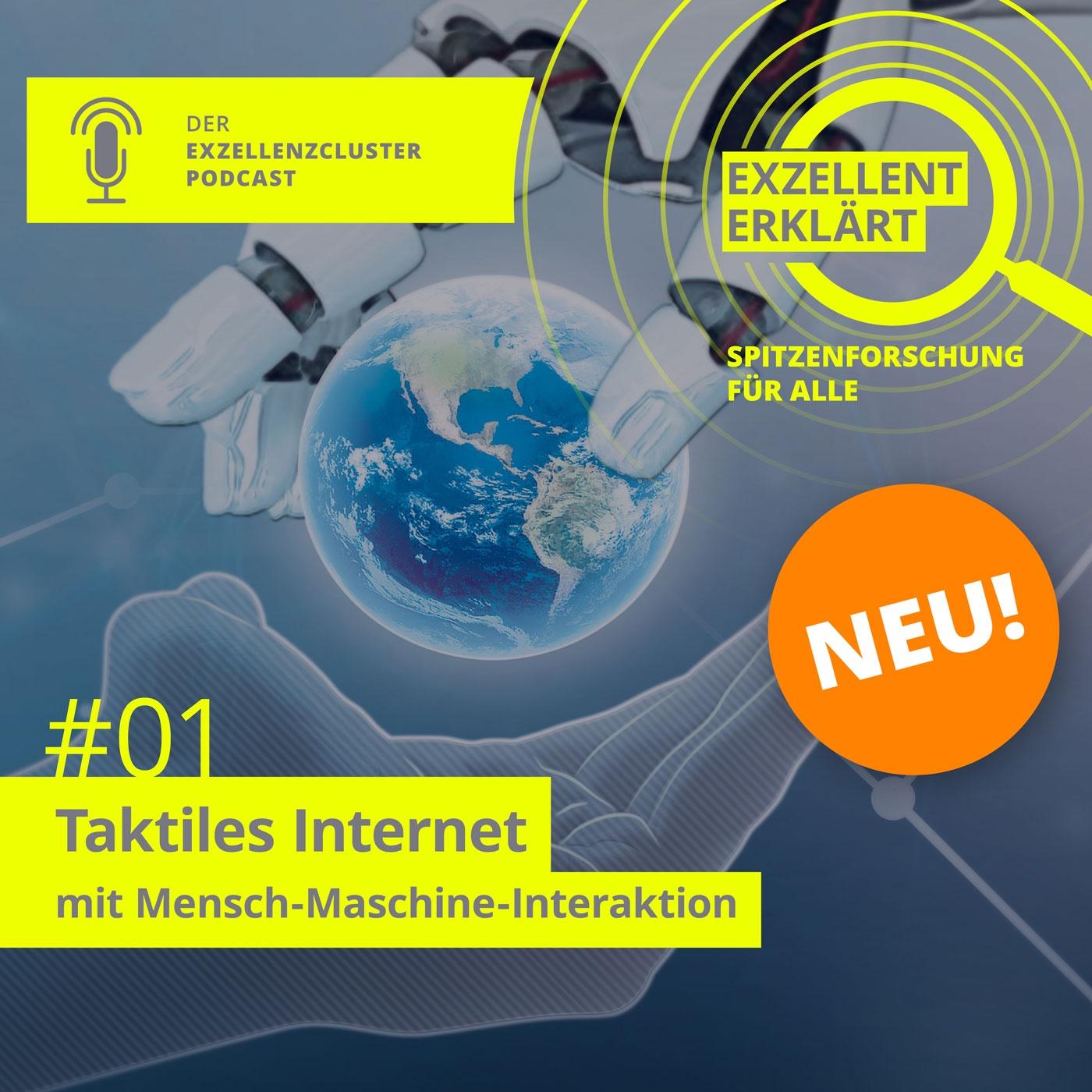 Taktiles Internet – Intelligente Textilien, Roboter und Hilfe im OP