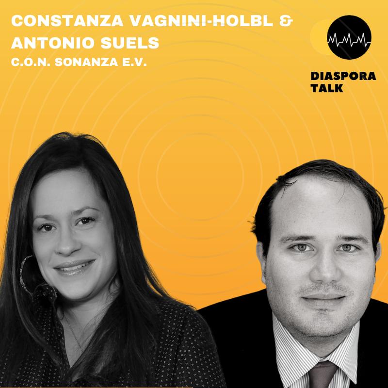 #20 mit Constanza Vagnini Holbl und Antonio Suels, C.O.N.sonanza e.V.