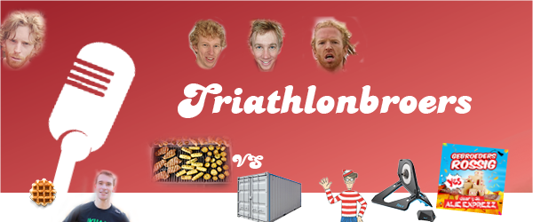 Triathlonbroers podcast - ins en outs over triathlon