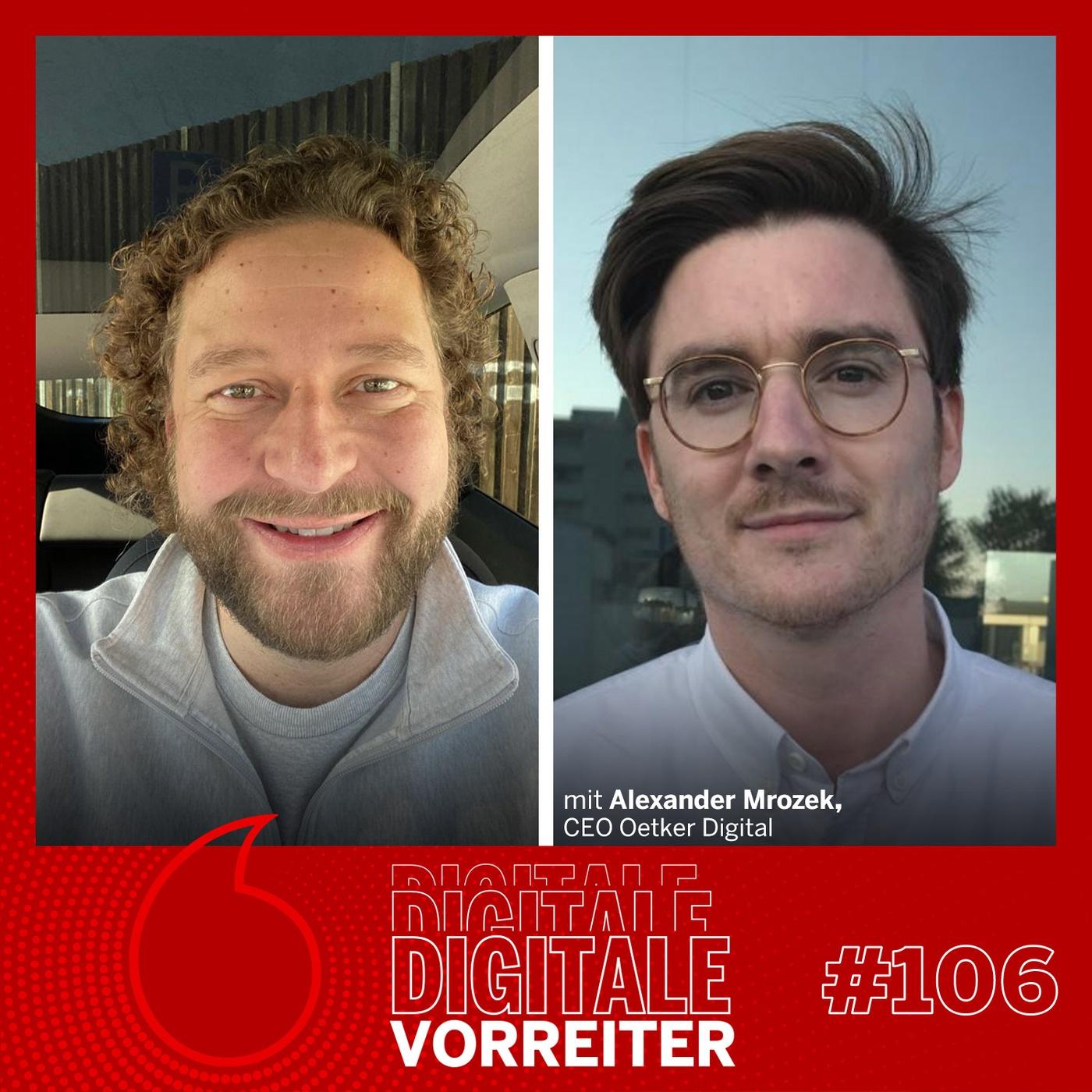 Oetker Digital - CEO Alexander Mrozek im Live Podcast von der PakCon 2021