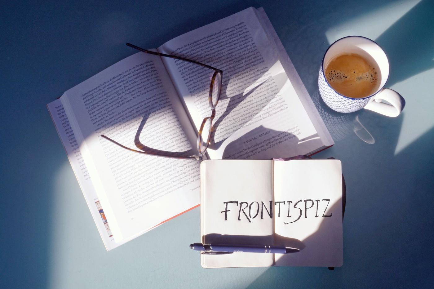 Frontispiz - Der Literaturpodcast