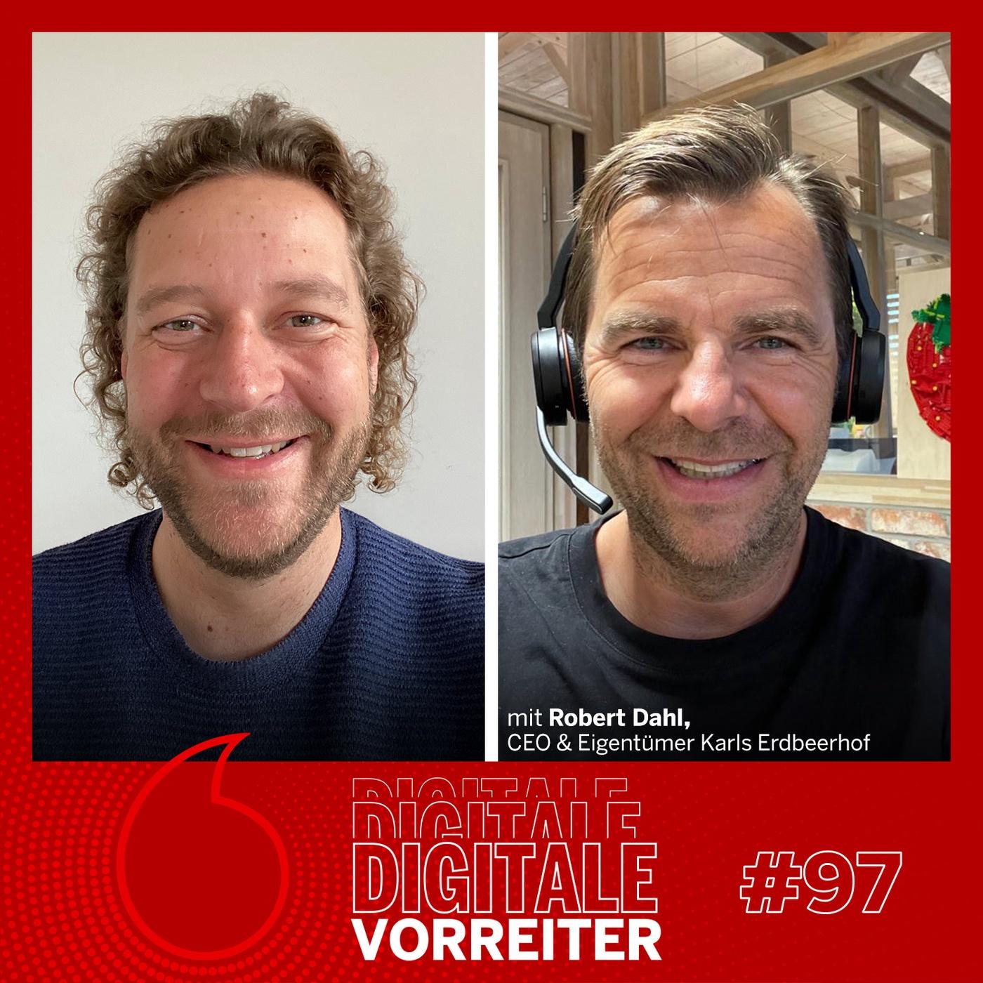 Der Erdbeerbauer, den 5 Mio Deutsche jährlich besuchen - Robert Dahl