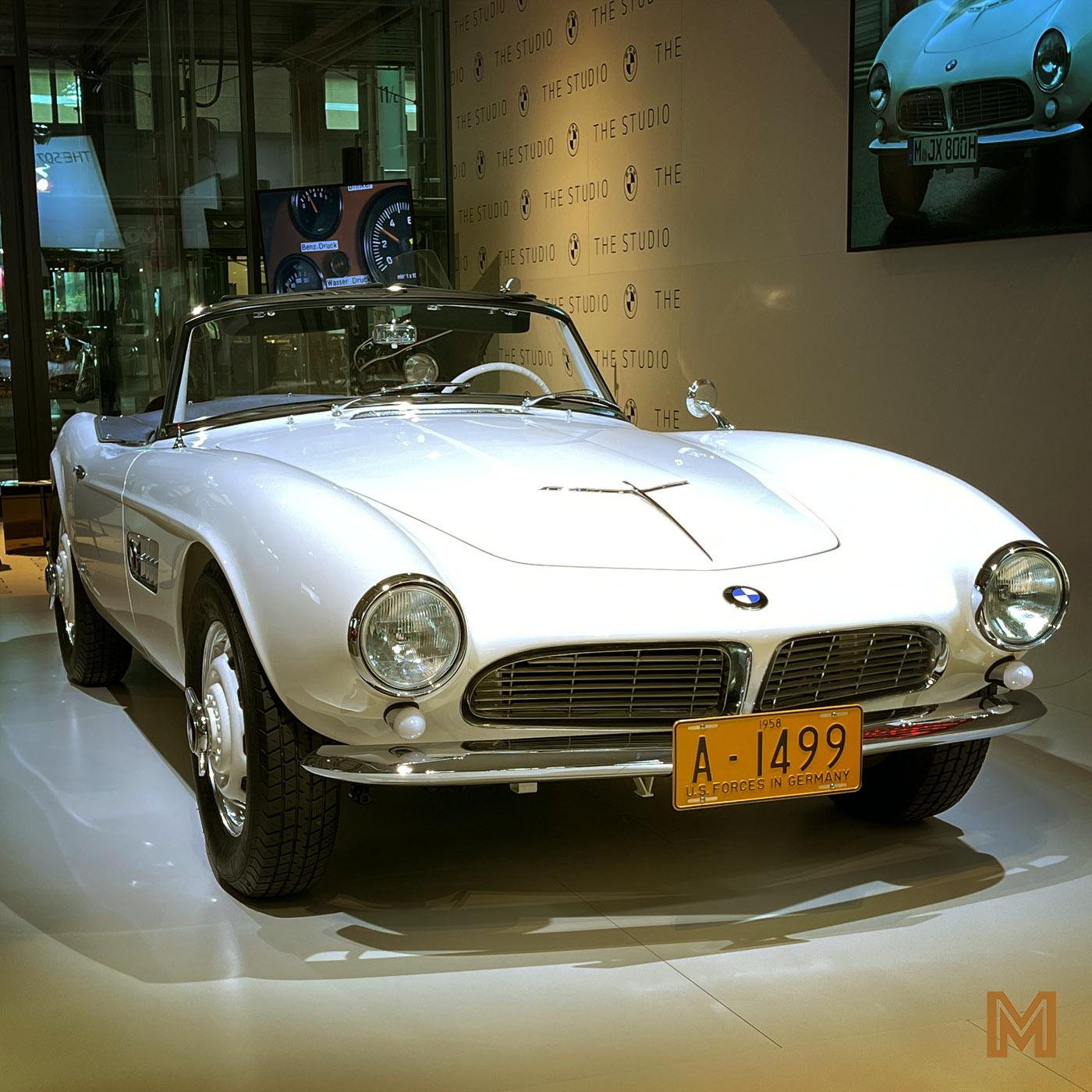 Der BMW 507 von Elvis – mit Martin Deggelmann