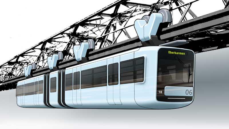 Suspension monorail (Schwebebahn) audioguide