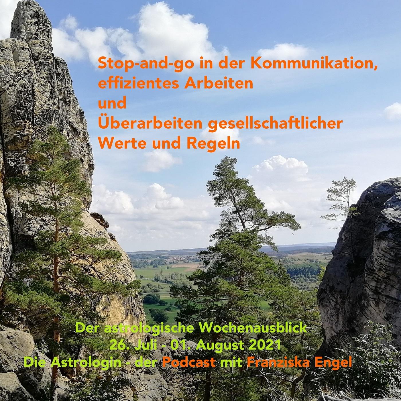 Stop-and-go in der Kommunikation, effizientes Arbeiten und Überarbeiten gesellschaftlicher Werte und Regeln