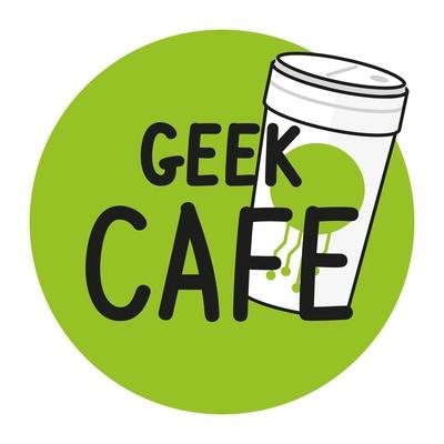 Gc0356 Auf Der Leitung Stehen Geek Cafe